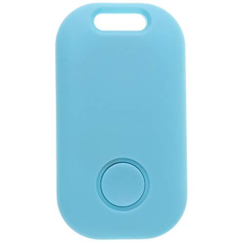 #N/A/a Tag Smart Tracker Bluetooth Mascota/Niño/Billetera/Buscador de Llaves Localizador GPS Alarma - Azul