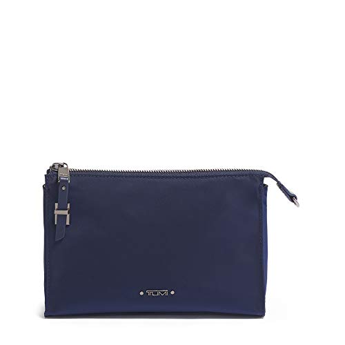 TUMI - Voyageur Basel Small Triangle Pouch - Luggage Accessories Travel Kit for Women - Midnight