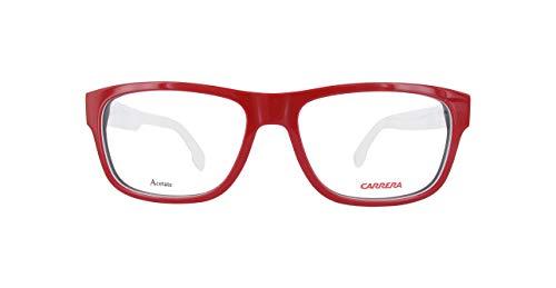 Carrera Carrera 1102V Carrera brilmontuur Carrera1102V-8Rr16-54 heren rechthoekig brilmontuur 54, rood