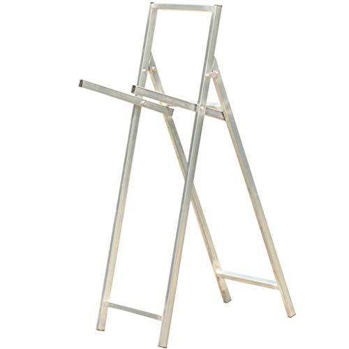 ZYCSKTL Basis Zielständer Kit Bogenpfeilschießen Bogenschießen Zielständer, Pfeil Pavillon Aluminiumlegierung faltbar Bogenschießen Zielständer (Color : Silver, Size : 128 * 42cm)