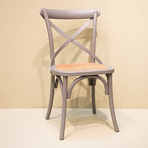 Amadeus – Silla de cruceta, color gris