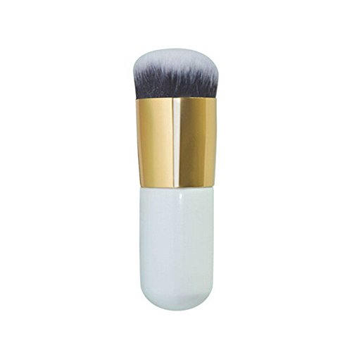Da.Wa 1 Stück Runder Kopf Puder Make-up Pinsel Schönheit Werkzeuge Kosmetika Stiftung Bürste