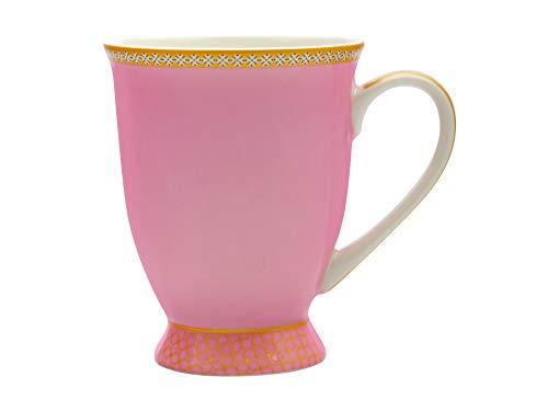 Maxwell & Williams Teas & C's Kasbah Kaffeebecher in Geschenkbox, Porzellan, Hot Pink, 300 ml