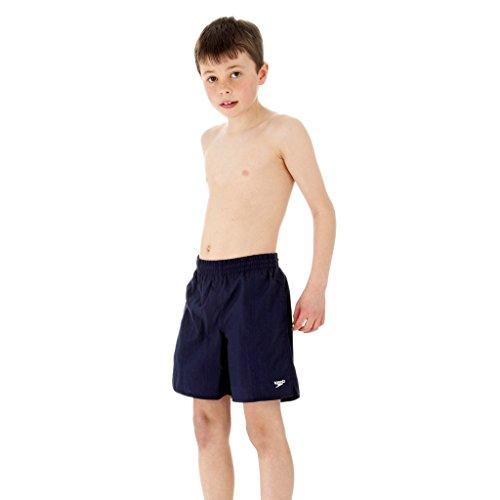 Speedo Jungen Solid Leisure Wassershorts, Blau (Navy), XL