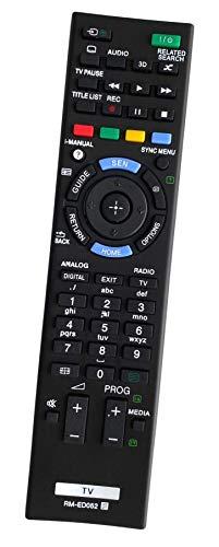 Ersatz Fernbedienung for Sony Bravia Fernseher TV KDL-32W654A   KDL-32W655   KDL-32W655A   KDL-32W656A   KDL-42W650A   KDL-42W651A