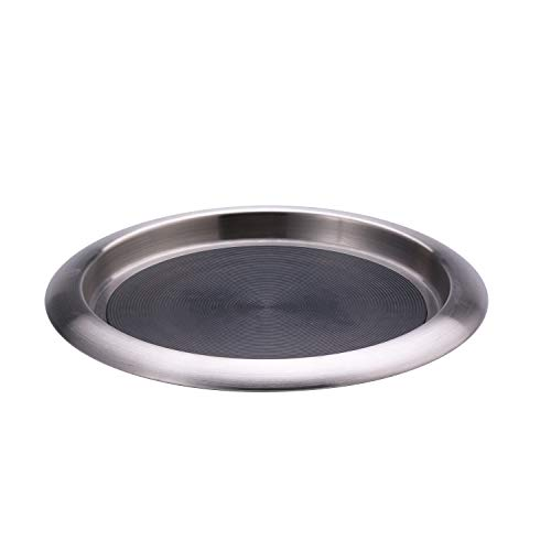 Service Ideas TR119SR Tray, 18/8 Stainless Steel, Stackable, 11