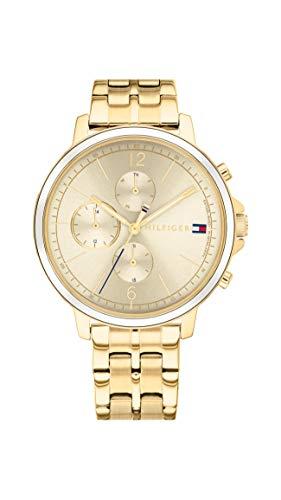 Tommy Hilfiger Dames Analoog Quartz Horloge met RVS Band 1782189