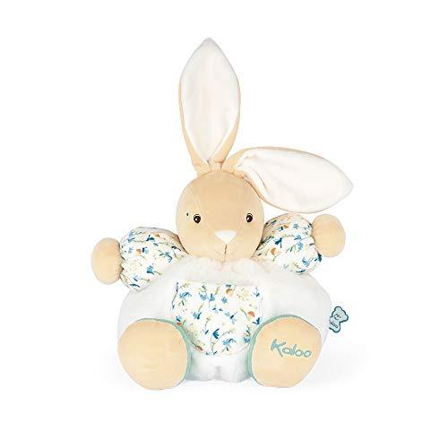 KALOO- Fripons-Peluche blandito Justin el conejo-25cm-Juguete de estímulo-Desde el Nacimiento (JURATOYS K963671) (Producto para bebé)
