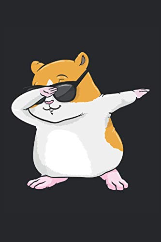 Hamster Notizbuch, 120 Seiten: Hip Hop Tanz Dab - Geschenke - Hamster Notizbuch - Tagebuch für Frauen, Männer und Kinder - Punktraster