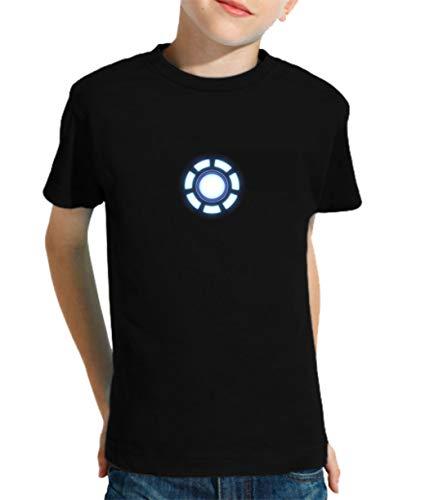 The Fan Tee Camiseta de NIÑOS Iron Man Los Vengadores Hulk Stark Industries 001 5-6 años