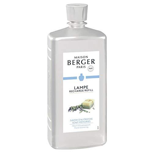 Lampe Berger - Recambio para Lámpara Savon S'Autrefois Perfume Limpio