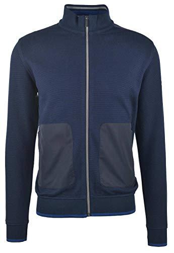 Bugatti Herren 8750-55175 Sweatshirt, Blau (Navy 390), X-Large (Herstellergröße: XL)