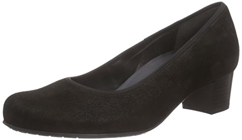 Semler Damen Cleo Pumps, Schwarz (Black/001), 38 EU (5 UK)