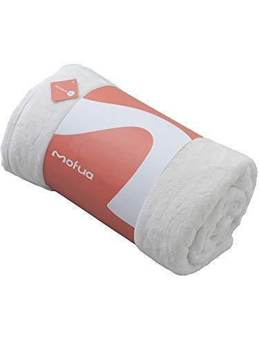 ナイスデイ mofua モフア 毛布 プレミアムマイクロファイバー Heatwarm発熱 +2℃ タイプ 1年間品質保証 シングル アイボリー 60100108
