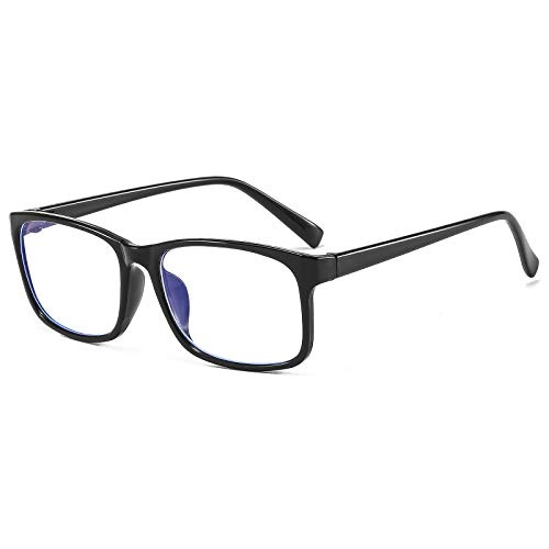 Suertree Blaulicht Brille Anti-blaulicht Computerbrille Brillenfassungen UV-Schutz Gaming Brille Black