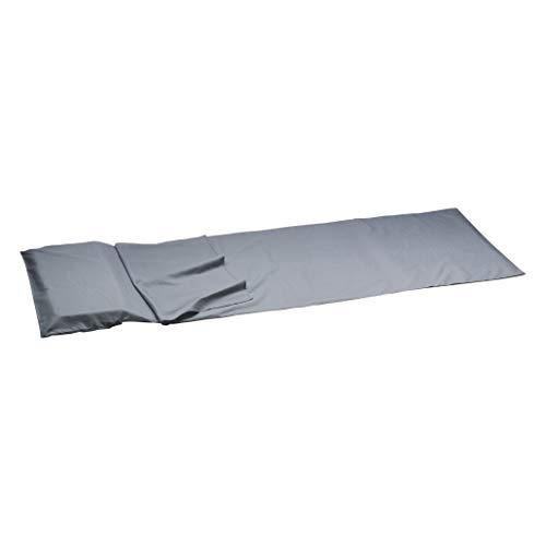Camp - Carre microfibre sac 210g - Drap de sac de couchage - Bleu marine / bleu nuit - Taille Unique
