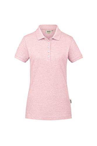 Hakro Damen-Poloshirt GOTS-Organic, HK231-rosa meliert, L