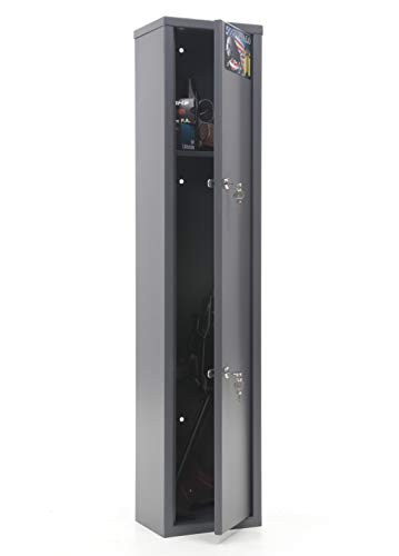 Buffalo 1015 Gun Rifle Shotgun Metal Security Cabinet Safe Storage Case Rack