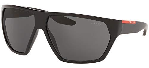 Prada Linea Rossa gafas de sol PS 08US 1AB1A1 Negro, gris tamaño de 67 mm de Hombre