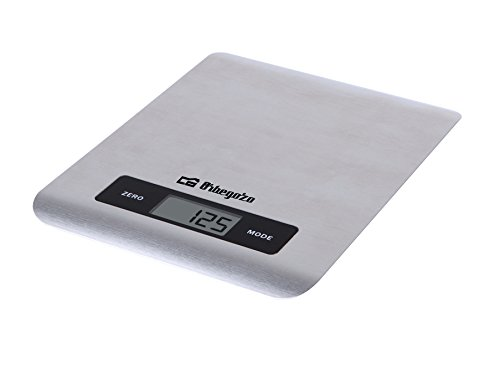 Orbegozo PC 1016 1016-Peso de Cocina electrónico, Acero Inoxidable