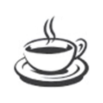 Self Inking Stamp: Coffee Cup | Promote Your Pub