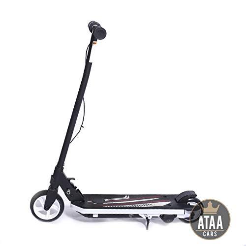 ATAA Elektro-Roller Abenteuer - Orange - Elektrischer Roller für Kinder