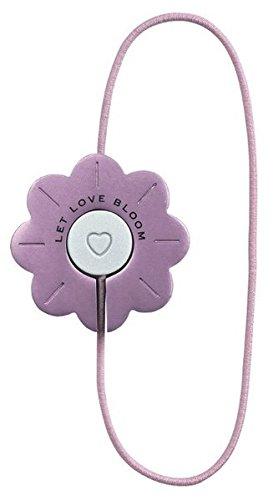 Artisan Bookmarks - Blüte | Let Love Bloom: Elastisches Leseband mit Metallschließe