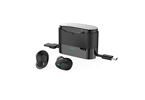 Acer GAHR011 Truly Wireless Bluetooth in Ear Earbuds with Mic (Black)