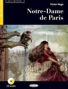 KIT LIBRO SCOLASTICO NOTRE DAME DE PARIS + CD + 1 Copertina trasparente + Cavalierini e Evidenziatore colore vario (9788853016379)