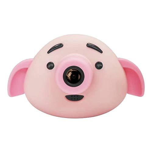 Calistouk Cámara para Niños Mini HD Cámara Digital 1080P Deportivo Cámara de Fotos Infantil Grabadora de Video Regalo de Cumpleaños Rosa
