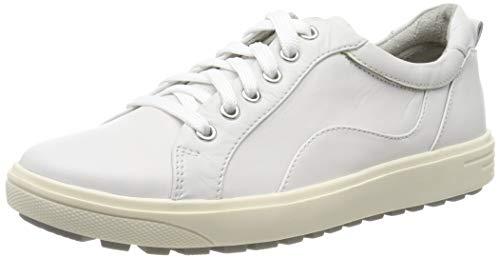 Jana 100% comfort Damen 8-8-23601-23 Oxfords, Weiß (White 100), 39 EU