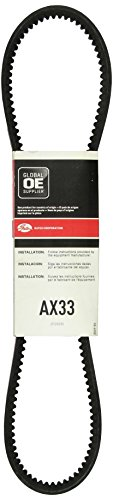 """Price comparison product image Gates AX33 Tri-Power Belt,  AX Section,  AX33 Size,  1 / 2"""" Width,  5 / 16"""" Height,  35"""" Outside Circumference"""