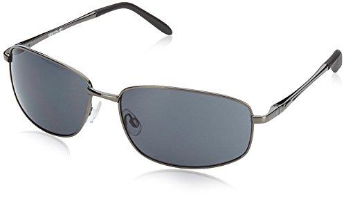 Klassische Marken Sonnenbrille für Herren von Burgmeister mit 100% UV Schutz | Sonnenbrille mit stabiler Metallfassung, hochwertigem Brillenetui, Brillenbeutel und 2 Jahren Garantie | SBM119-181