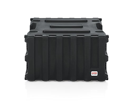 Gator Cases Pro Series Rotationally Molded 6U Rack Case with Standard 19