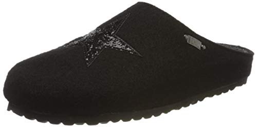 Supersoft Damen 552 223 Pantoffeln, Schwarz (Black 006), 39 EU