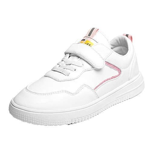 Zapatos Casuales para niños cómodos Ligeros Bajos Zapatillas Planas niños niñas Escuela al Aire Libre Zapatos Deportivos Antideslizantes Resistentes