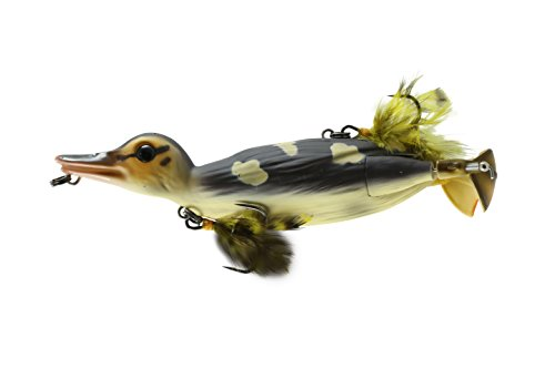 Savage Gear D-150-WD 3D Topwater Duck Wood Duckling, 6'