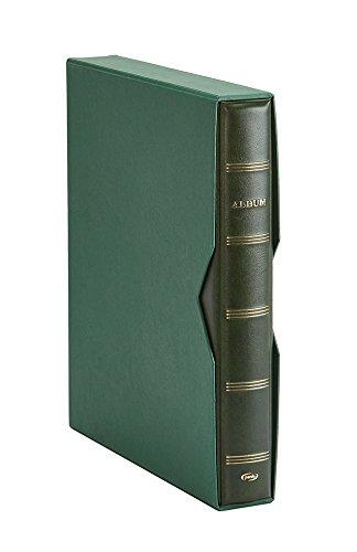Pardo 127504 - Album para colección de artículos, color verde