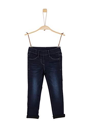 s.Oliver Mädchen 53.911.71.3526 Jeans, Blau (Blue Denim Stretch 58Z5), 116 (Herstellergröße:116/REG)