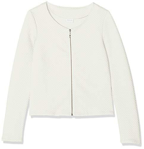Vila Clothes Vinaja New Short Jacket-Noos Blazer, Bianco (Snow White Snow White), 40 (Taglia Produttore: Large) Donna