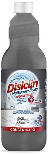 Disiclin Fregasuelos Concentrado Higienizante, Silver 1 Litros 1000 ml