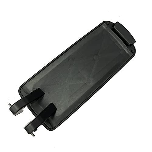 Tapa de cierre para reposabrazos de coche para consola central Exeo, cierre de clip central de piel sintética