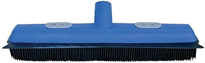 MSV 橡胶扫帚带刮痕,蓝色