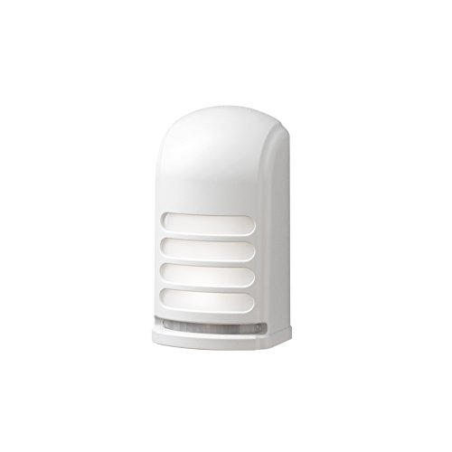 Konstsmide Prato 7694-250 Lampe d'extérieur sans fil avec détecteur de mouvement en plastique Blanc 0,24 W LED intégrée