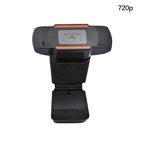 HaavPoois Webcam met Microfoon, 720P USB HD Webcamera met Smart Focus en Opnamen bij Weinig Licht voor Videoconferenties, Webcast