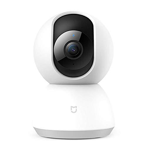 Jinclonder, PTZ versión 1080P para el hogar Cámara Inteligente HD de 360 Grados, Monitor IP Cámara de visión Nocturna para la Seguridad en el hogar Aplicable para la cámara Inteligente Xiaomi Mijia