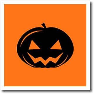 3dRose Sven Herkenrath Celebration T-Shirts Halloween Illustration with Castle and Pumpkin Bat