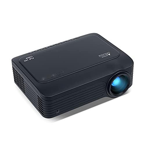SGZYJ K18 Mini LED 1920x1080 Full HD 1080P Proiettore LCD da Gioco Portatile Goditi la Vita,Goditi Il teatro privato (Color : K18)