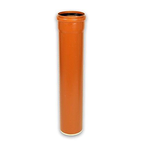 KGEM KG-Rohr mit Steckmuffe und Gummidichtring DN 160 Länge 1000 mm