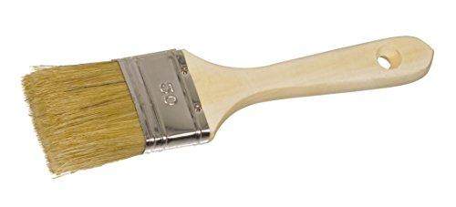 Color Expert 30020 Pinceau qualité professionnelle Industrie Manche bois naturel 20 mm